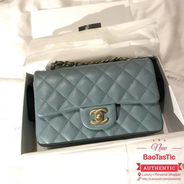 3b12e47c469 ❌SOLD❌ BNIB Chanel 18C Iridescent Caviar Mini Rectangular, Luxury, Bags    Wallets on Carousell