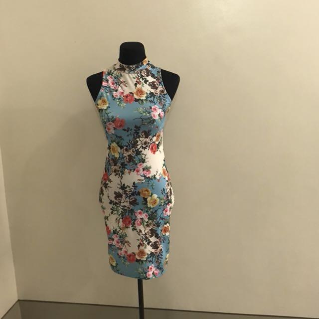 Sophistique Body Con Dress