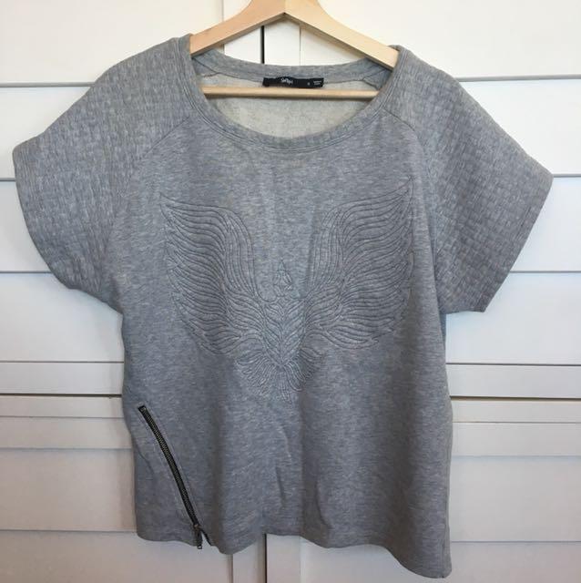 Sportsgirl grey top