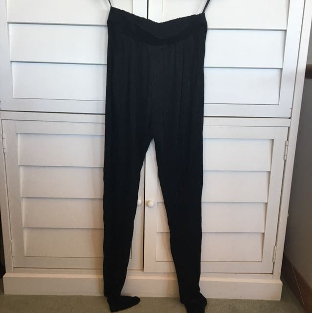 Sportsgirl high waisted black dressy pants