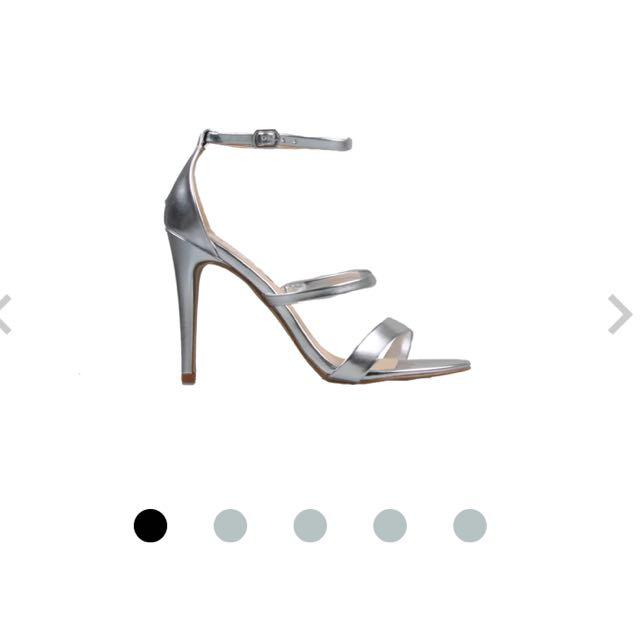 Spotlight Silver Patent - Shoes