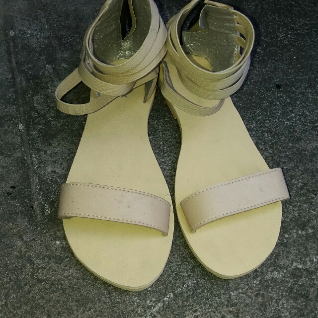 Strappy marikina made sandals