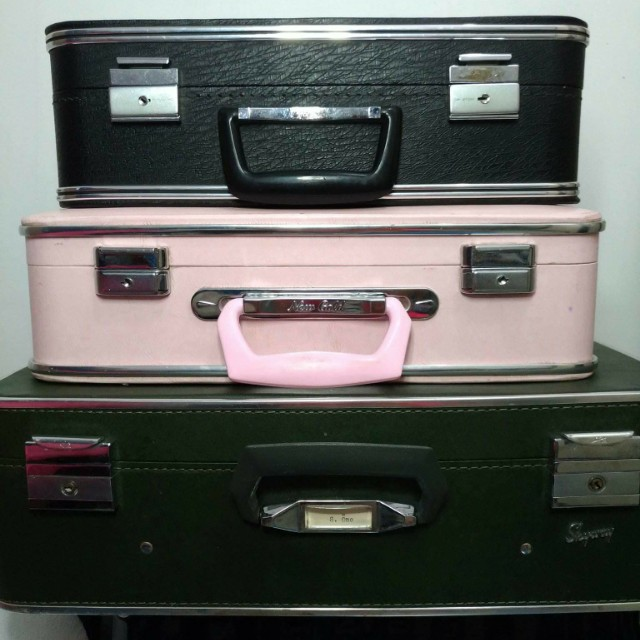 Suitcases for rent or sale