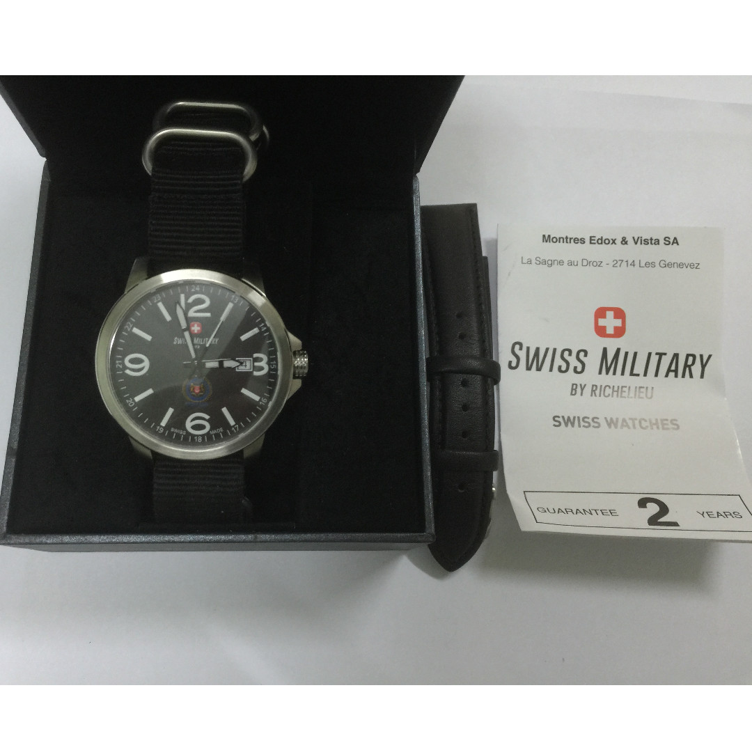 Swiss Military By Richelieu   MR watch, Men s Fashion, Watches on Carousell 7b506ec4a963