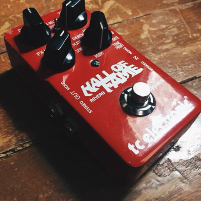 TC Electronics HOF (Hall of Fame) Reverb Pedal