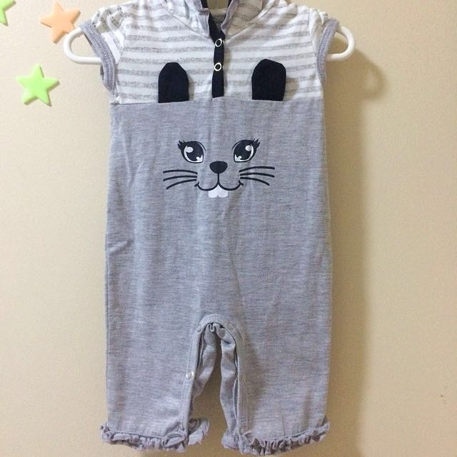 Tiny Tummies Romper with Hoodie
