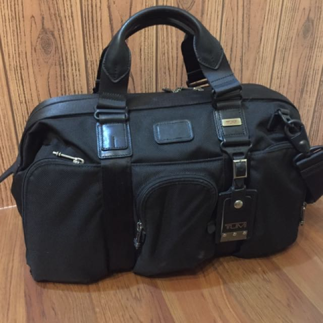 Tumi Norfolk satchel duffel, SN 22660DH