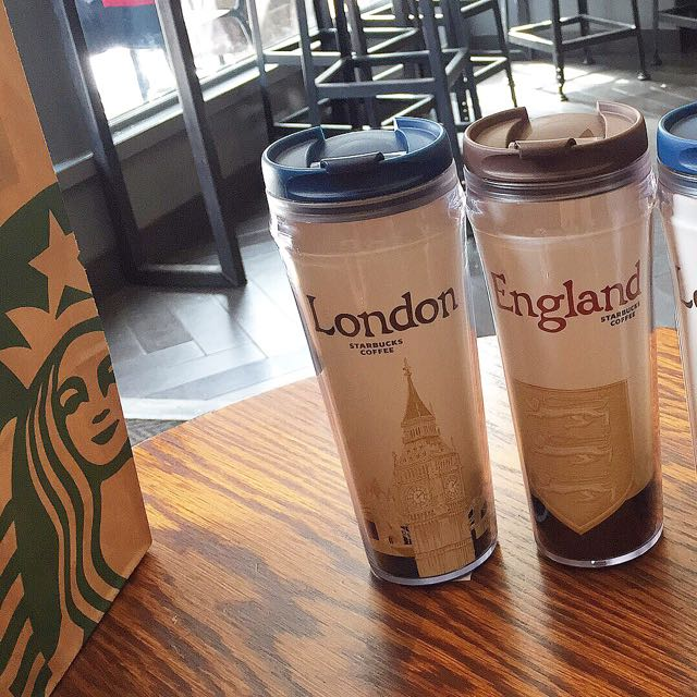 UK Starbucks Tumbler