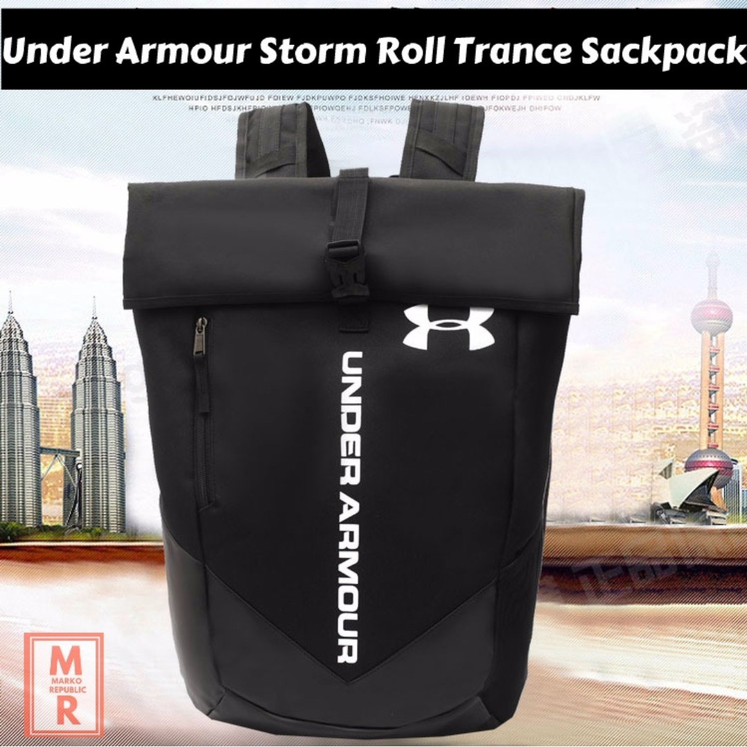 7b8e07954c Under Armour Roll Trance Sackpack Backpack Bag for Travel School ...