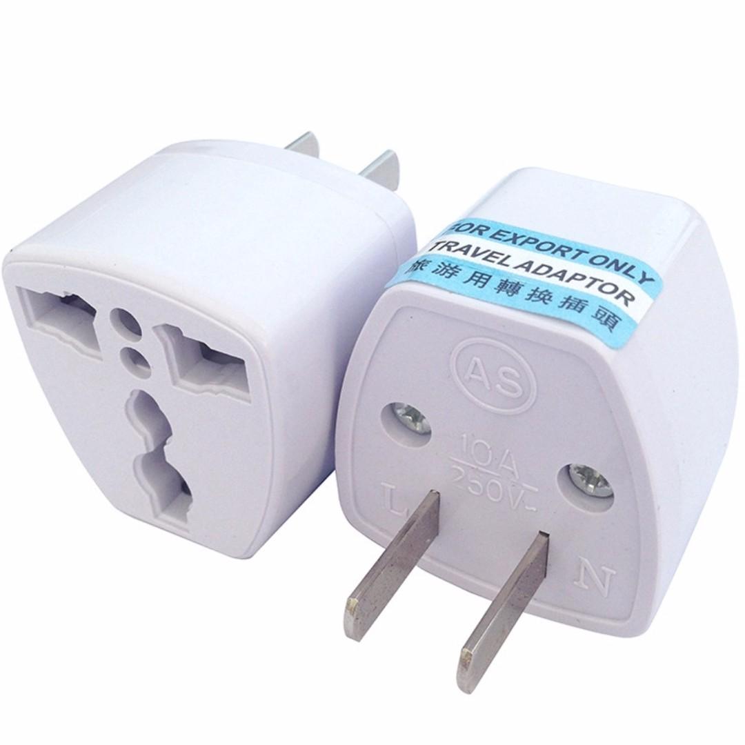 Universal Adapter Plug to US Philippines Socket Converter Wall AC Adaptor