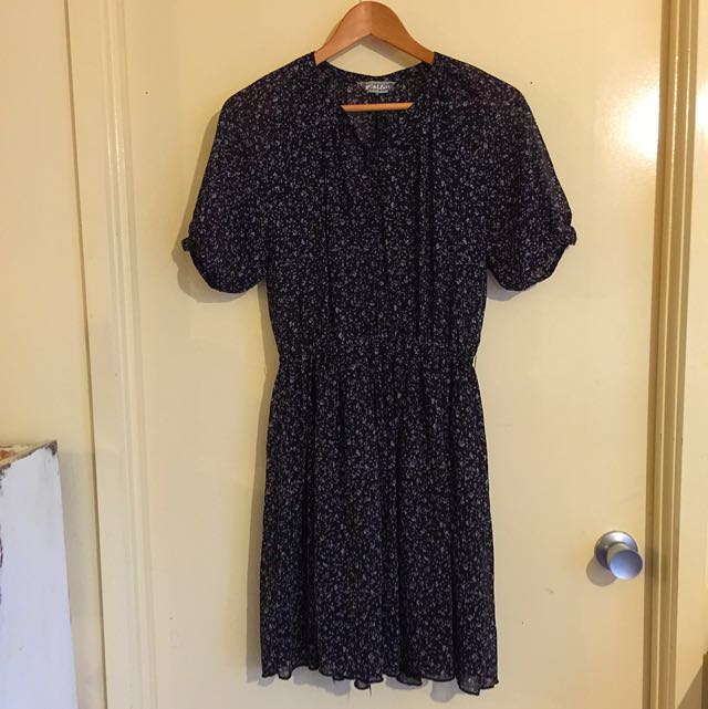 Vintage Style Patterned Dress