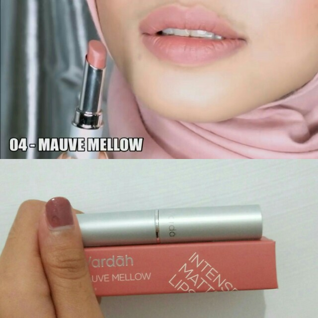 Wardah intense matte lipstick no 4