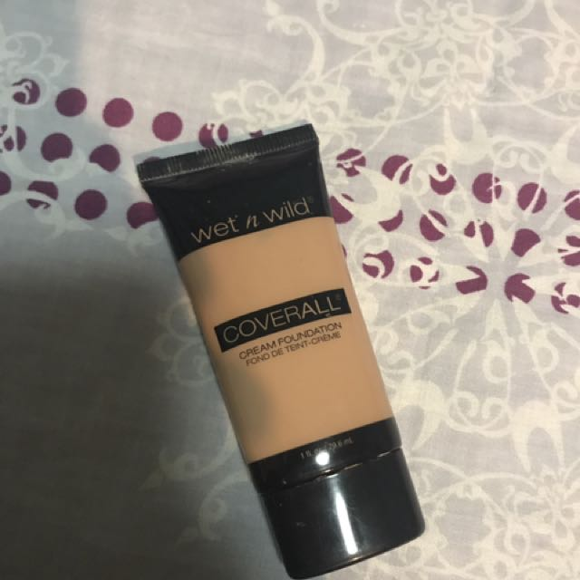 Wet n wild coverall foundation (dupe for mac)