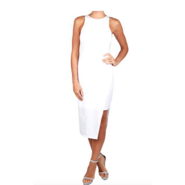 White Kookai Alexia Dress SIZE ONE