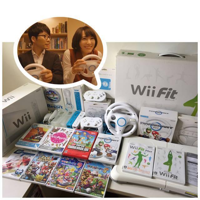 Wii 【日•美品】