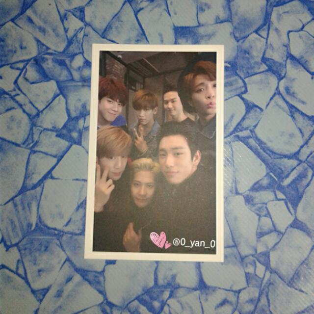 [WTS Only] GOT7 Flight log:departure group pc