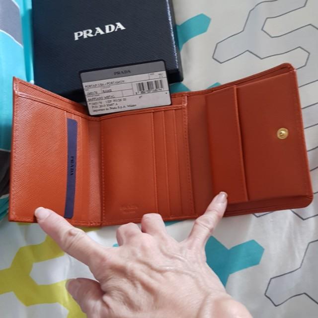 (GREAT Deal @$500) Selling Prada Saffiano Metal Wallet - NEW
