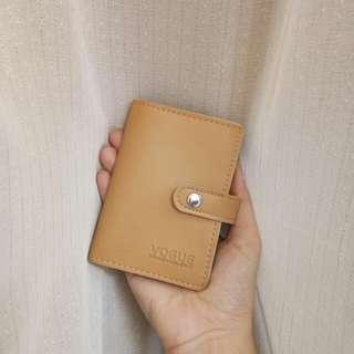 Cardholder in beige