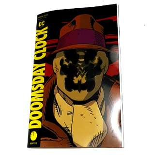DOOMSDAY CLOCK LENTICULAR ED. #1 DC COMICS 1st Print SUPERMAN JUSTICE LEAGUE BATMAN FLASH WATCHMEN