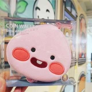 現貨❗️韓國斷貨款•《Kakao friends》 Apeach coin wallet 散子包