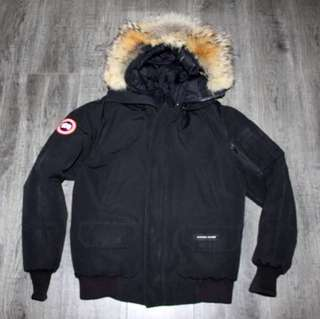 CANADA GOOSE Men's Small CHILLIWACK parka coat bomber jacket