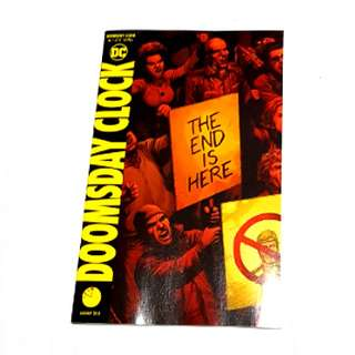 DOOMSDAY CLOCK #1 DC COMICS 1st PRINT SUPERMAN JUSTICE LEAGUE BATMAN FLASH WATCHMEN