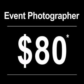 Professional Freelance Event Photographer