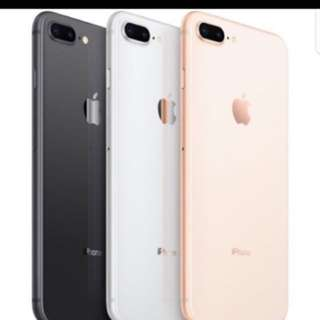 iPhone X or iPhone 8 or iPhone 8 Plus