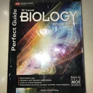 O Level Biology Perfect Guide 2nd Edition