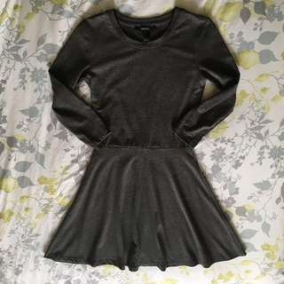 Forever21 grey skater dress (Size S)