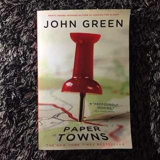 Paper Towns [novel inggris/english version]