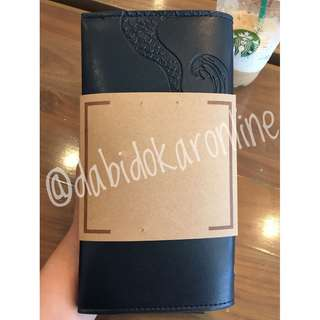Starbucks Siren's Tail Travel Pouch with 2018 Coffee Journal