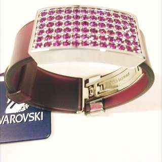 🍆 SWAROVSKI PURPLE CUFF 🍆
