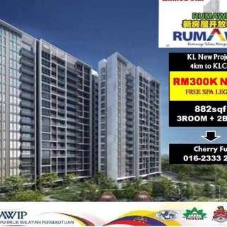 KL NEW CONDO RM300k Nett