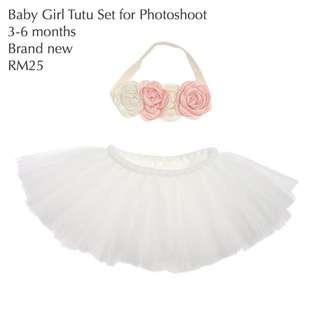 Baby Girl Tutu Set