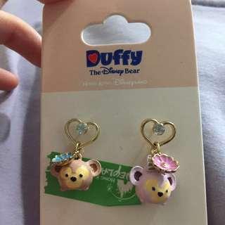 香港迪士尼 duffy shelliemay 耳環