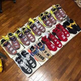Adidas x Pharrell NMD Human Race V1 and V2 TR
