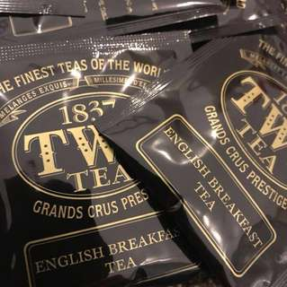 TWG english breakfast teabags