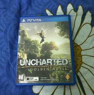 PS Vita game - Uncharted Golden Abyss