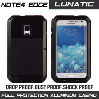 SAMSUNG NOTE 4 EDGE HEAVY DUTY METAL CASING. LIMITED STOCK!
