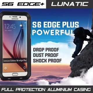SAMSUNG S6 EDGE PLUS HEAVY DUTY METAL CASING FULL PROTECTION INSTOCK!