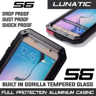 SAMSUNG S6 HEAVY DUTY METAL CASING FULL PROTECTION INSTOCK!