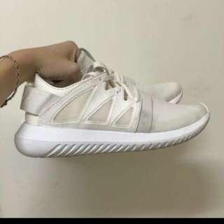 🚚 (含運) Adidas Tubular Viral 米白 24號