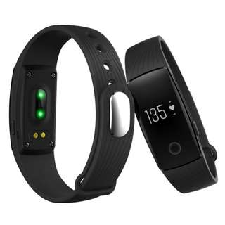 010 (Brand New) ID107 Smart Band Fitness Tracker Veryfit - Black