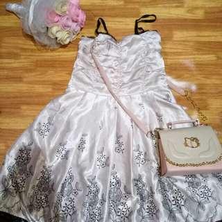 Dress Creme Import