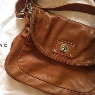 Marc by Marc Jacob (MBMJ) Crossbody Bag in Cognac