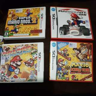 SUPER MARIO DS & 3DS GAMES