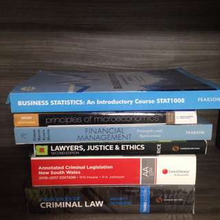 Law and Commerce Textbooks