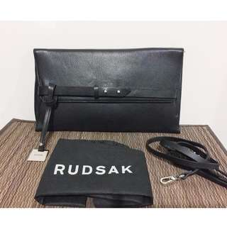 BRAND NEW Authentic RUDSAK Oversized Leather Clutch