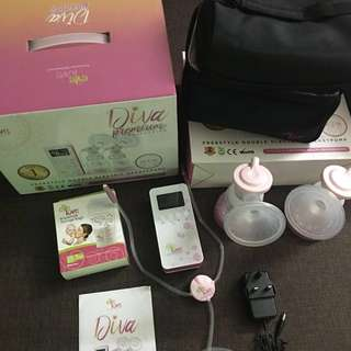 Evelove Double Electric Breastpump Diva Premium